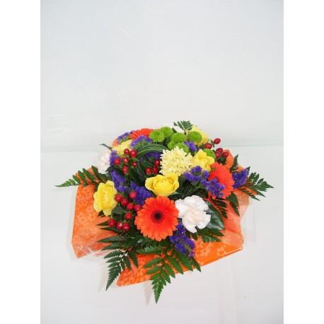 Bouquet rond très coloré