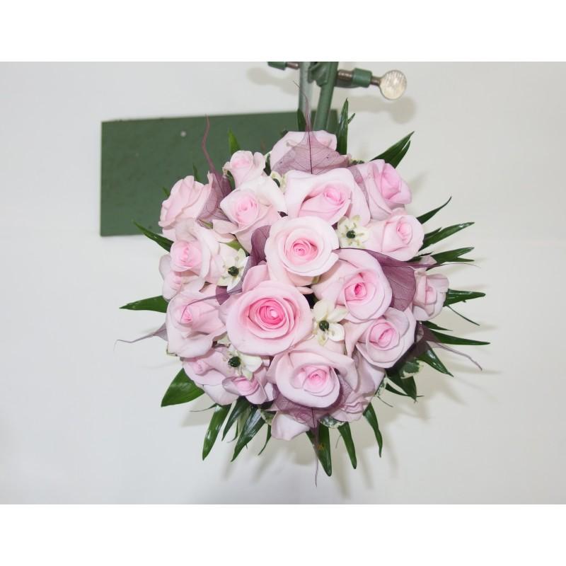 Bouquet de mari e rond nectoux fleurs for Commander un bouquet