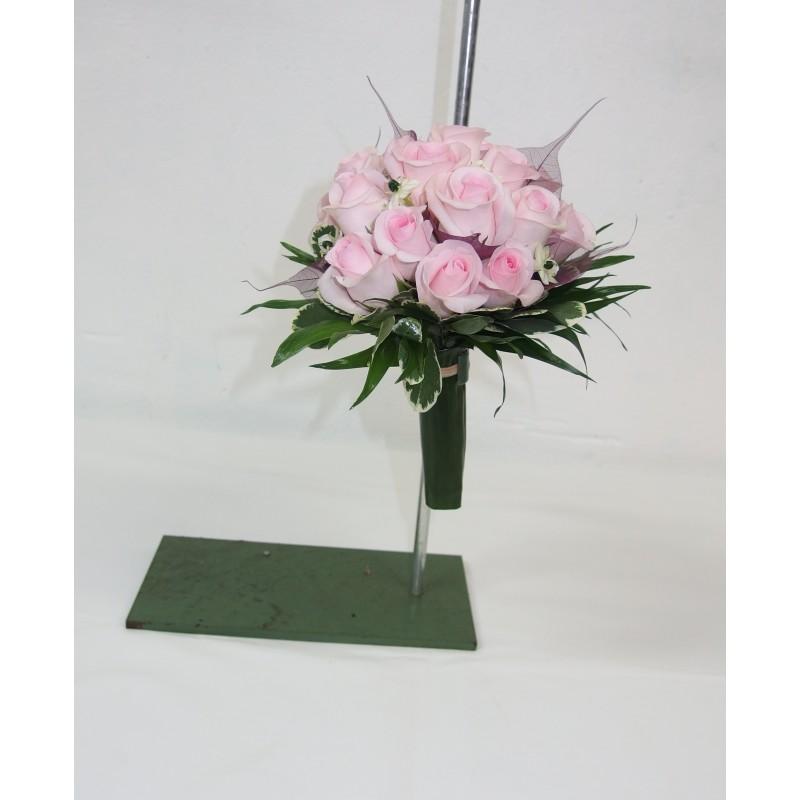 bouquet de mari e rond nectoux fleurs. Black Bedroom Furniture Sets. Home Design Ideas