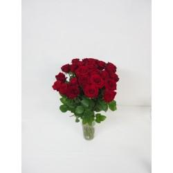 Superbe bouquet de roses rouges
